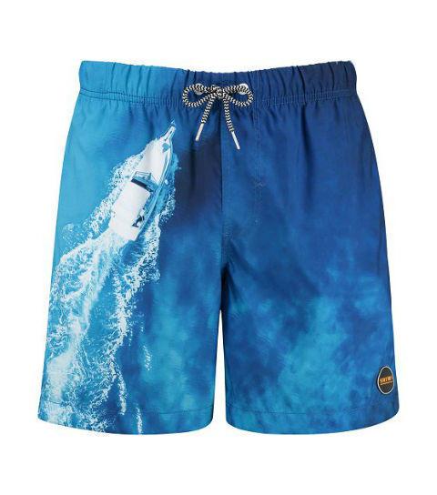 Zwembroek Blauw Heren.Heren Zwemshort Blauw En Vele Andere Zwemshorts Bij Zwemeiland Nl